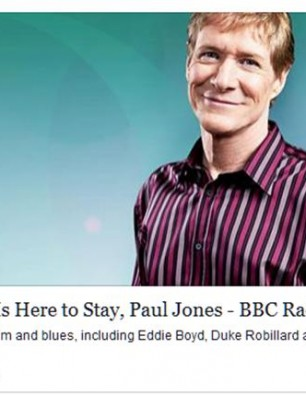 "Paul Jones BBC Radio 2 airplay ""Exciting"""