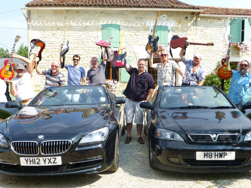 Creatives Vacances - Electric Guitar and Blues Band Skills, Charente- Maritime, France