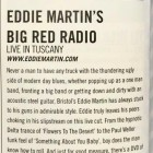 ACOUSTIC MAGAZINE – NEW FAB REVIEW OF LIVE IN TUSCANY