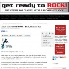 """Excellent.. Superbly Crafted Album"" Says Getreadytorock Mag"