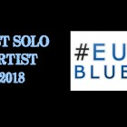 EDDIE WINS 2018 EUROPEAN BLUES AWARD BEST SOLO ARTIST!!